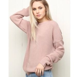 Brandy Melville | Ollie Sweater in Pink